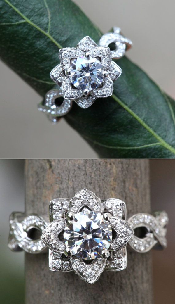 10 Stunning Wedding Engagement Rings that will Blow you away ...
