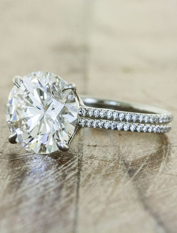 stunning-halo-wedding-engagement-rings