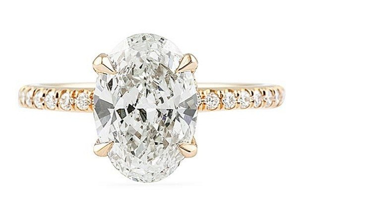 Lepozzi Collection 3-Stone Engagement Rings