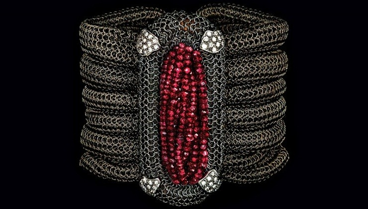 Look Strong and Confident with Jewelry Crafted from 13th-Century Armor