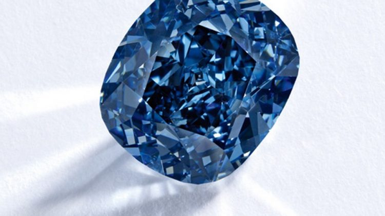 The Story Behind the Blue Moon Diamond