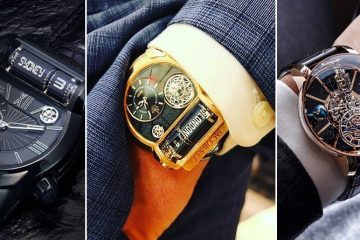 Six Beautiful Luxury Men's Timepieces