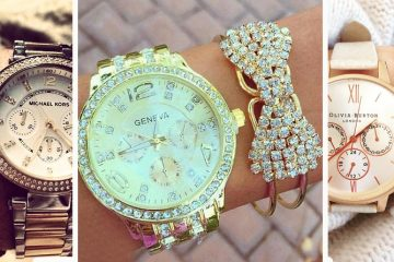 Six very Stylish Jewelry Watch Sets for Women